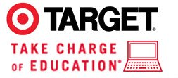 Target Takes Charge of Education Logo
